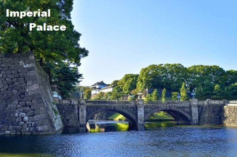4. Peaceful Time in Imperial Palace, a former Edo Castle Complex