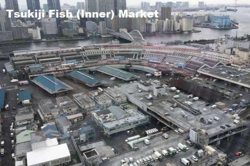 2. Busy Tsukiji Fish Market