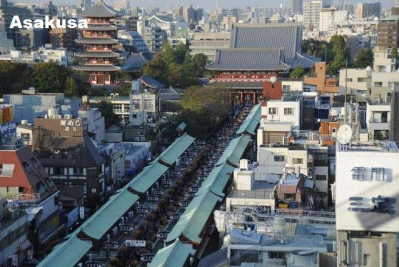 1. Asakusa, a Sweet Old Town