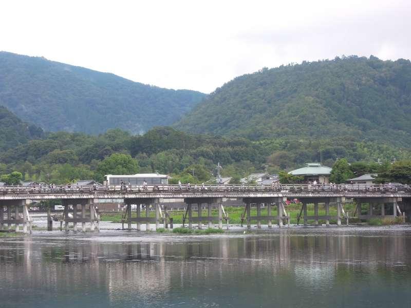 Togetsu-kyo ( Moon-crossing Bridge ), Arashiyama