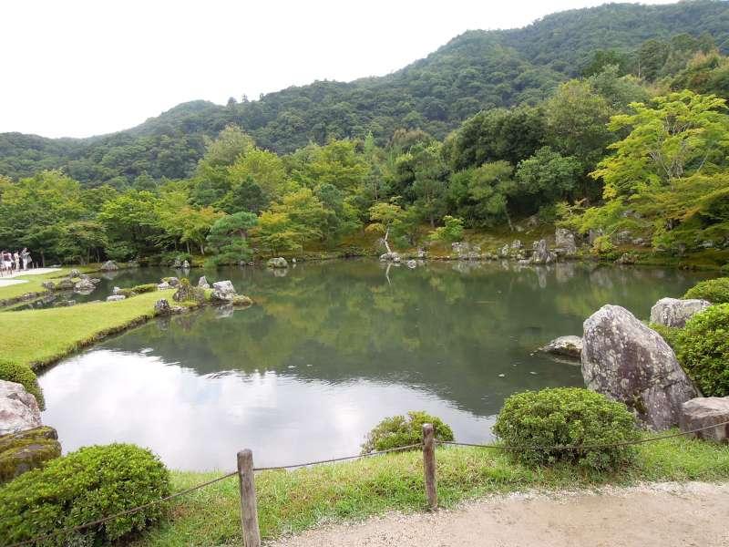 The garden of Tenryu-ji Temple, Arashiyama
