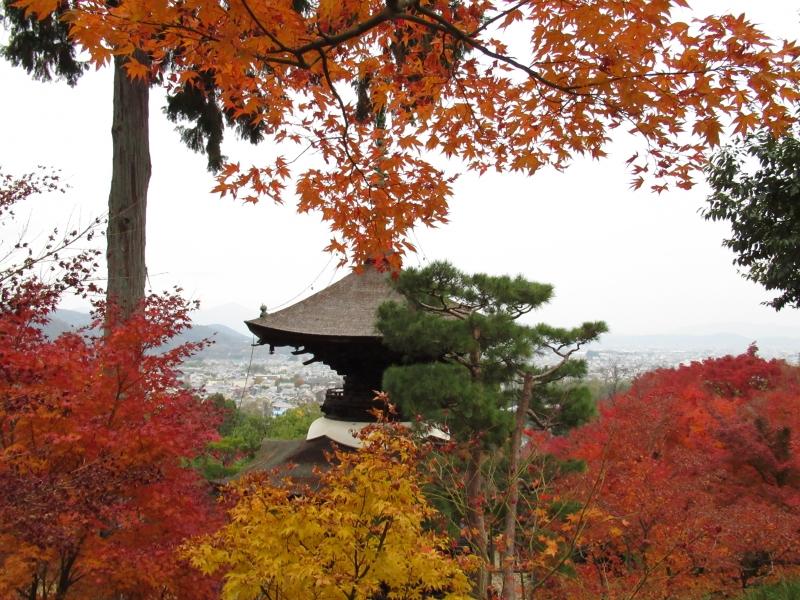 Tahoto Pagoda of Jojako-ji Temple, Arashiyama