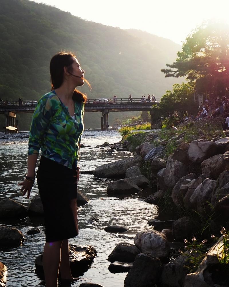 Arashiyama Moon Bridge