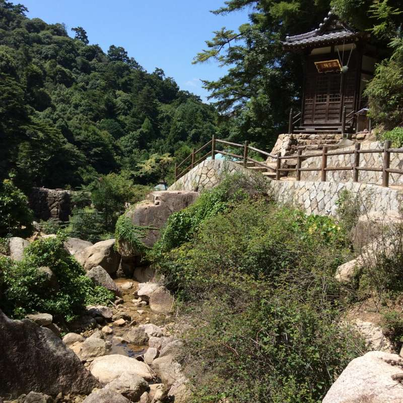 All day in Miyajima Island