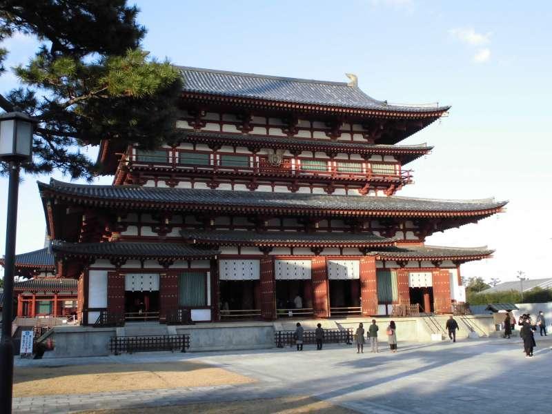 Yakushi-ji Temple Kondo(Main Hall)