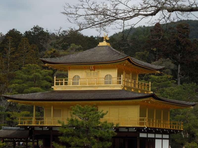 El Pabellón de Oro es una representación de Kioto.