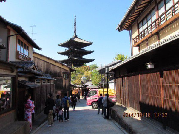 Yasaka-no-to or the thirdtallest five-story pagoda