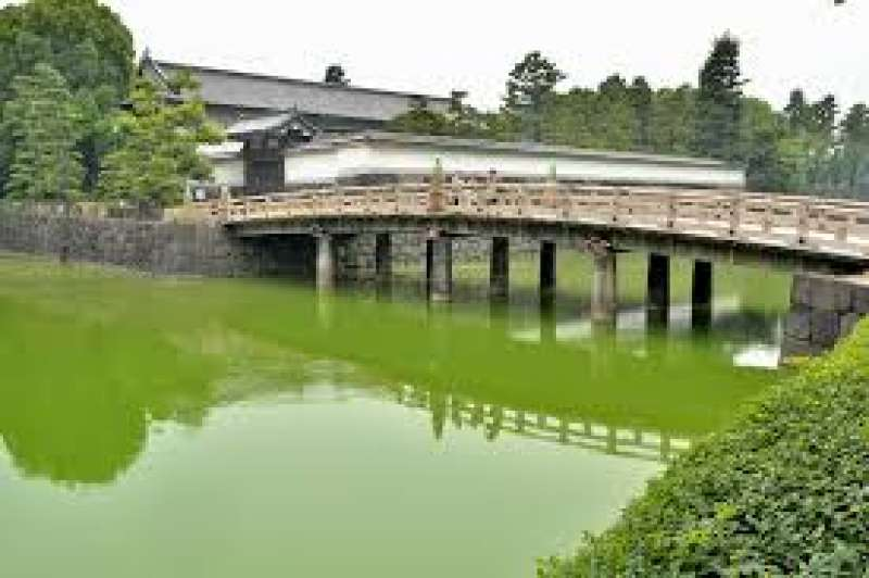 Imperial Palace, Traditional and famous bridge.