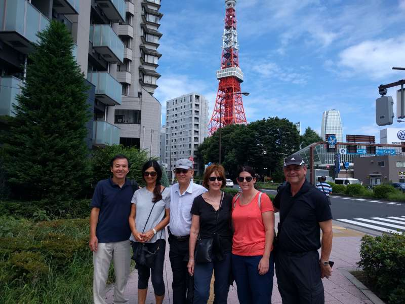 First Visit to Exciting Tokyo