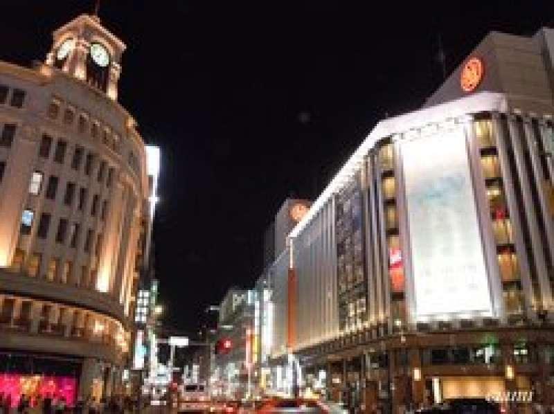 Ginza Night !! Great!!