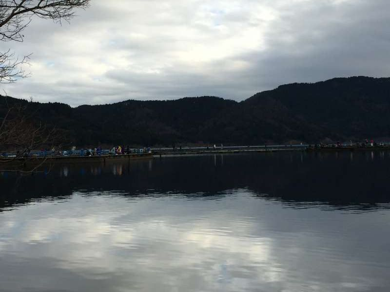 [Feb.] Lake Yogo in Winter Morning