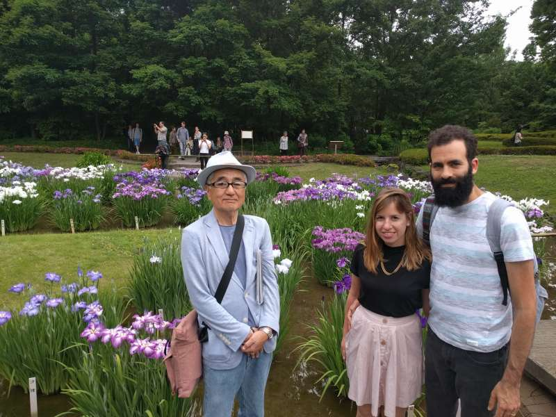 At Imperial Palace East Garden