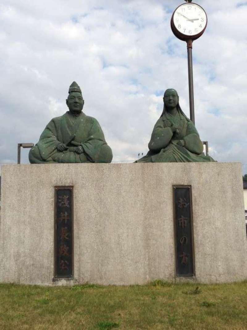 [Oct.] Oichi & Nagamasa at Odani Jyo Castle (小谷城)