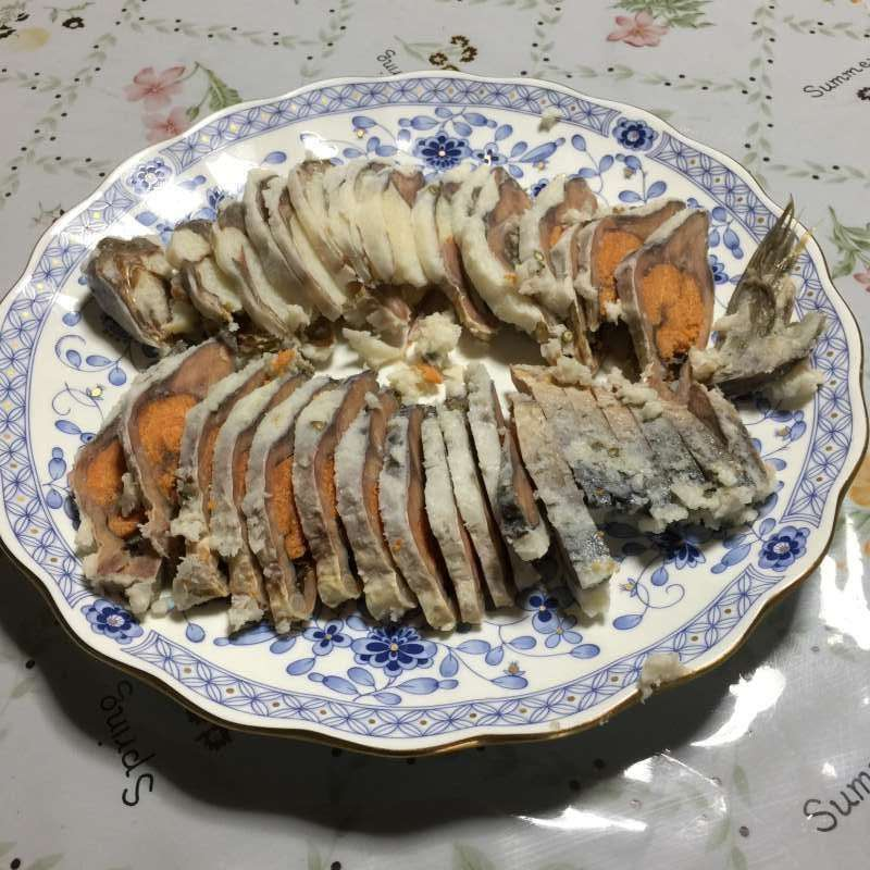 """[Feb.] Local Food """"Funa-zushi"""" (鮒鮓), the Original of Japanese """"Sushi"""" (Fermented Crucian Carp with Cooked Rice)"""
