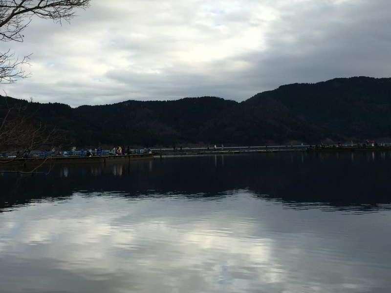 [Feb.] Lake Yogo in Winter Morning