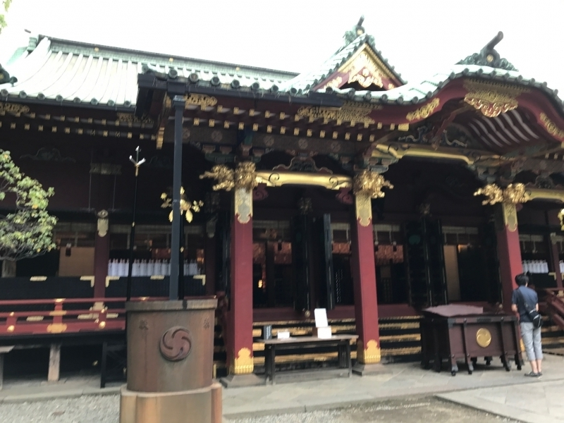 Yanaka Nezu shrine, an important  cultural property , constructed in 1706