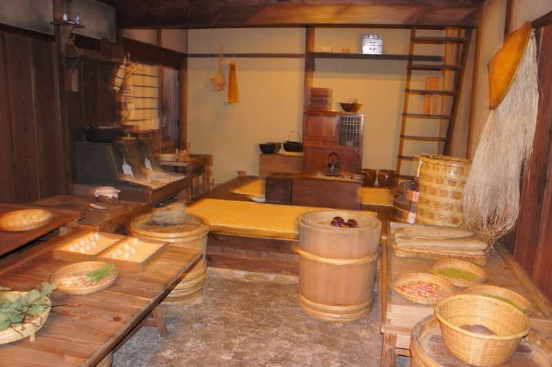 Fukagawa Edo Museum (hier Gemuseladen)