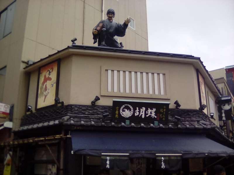 The Shopping Street with Edo Touch: Denbouin-dori Street