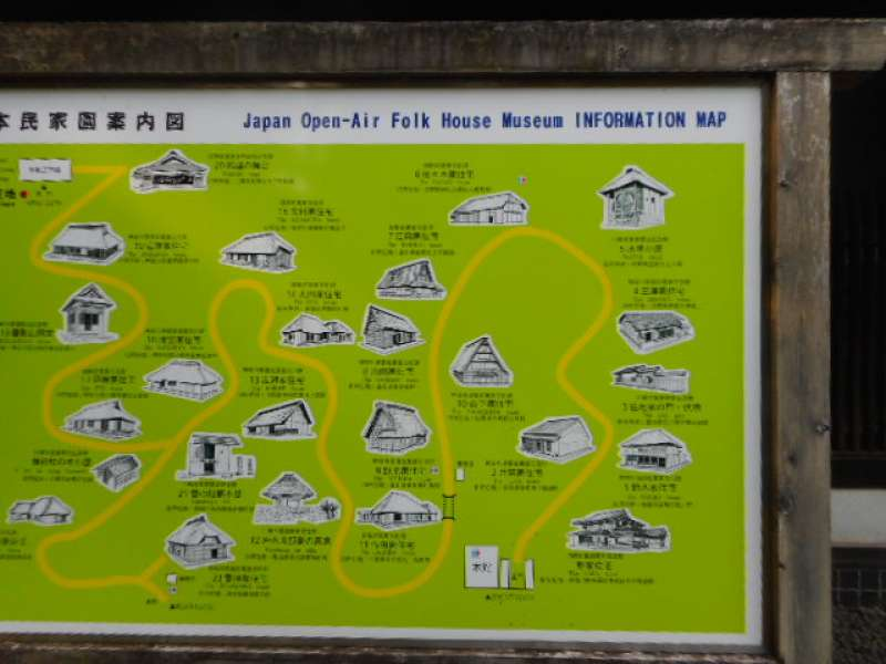 A map of the museum