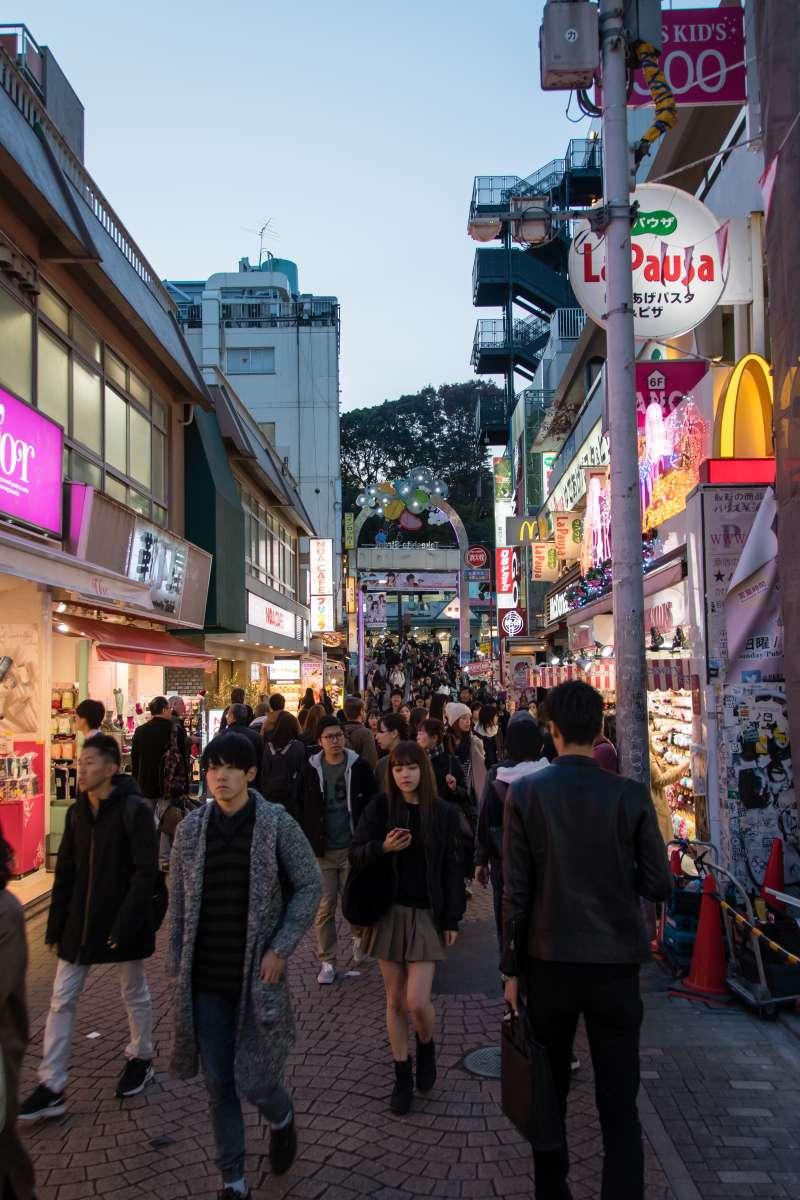 Takeshita Fashion Street, Harajuku