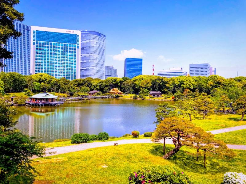 Hamarikyu Japanese Gardens
