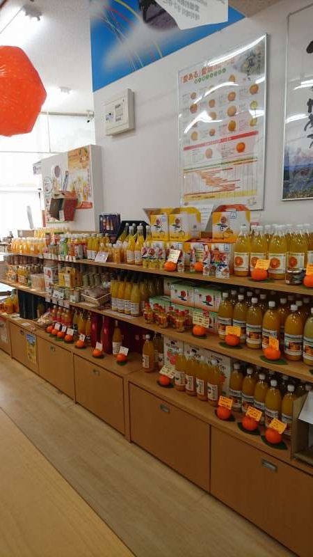 Lots of mikan, or orange, products.