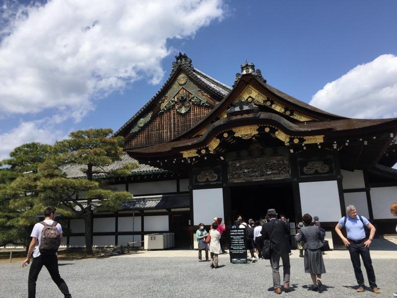 Nijo Castle, Shogun's residence in Edo period