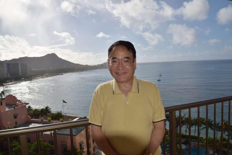 Diamond Head, Waikiki, Hawaii in January 2017 (Sheraton Waikiki Hotel)