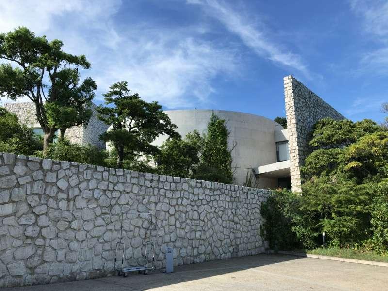 Benesse House Museum, designed by Tadao Ando