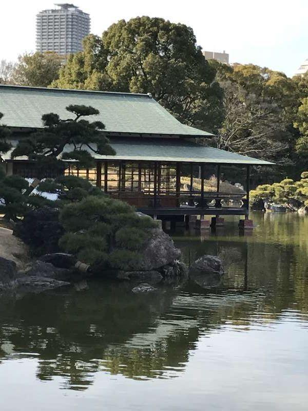 Kiyosumi Garden at Sumida city