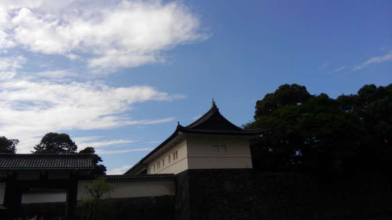 You can see the remains of Edo Castle in the Imperial Palace.