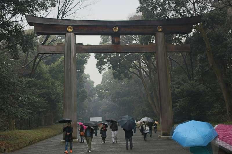 Meiji Shrine Main Torii Gate which will prevent evil spirit coming into the shrine.
