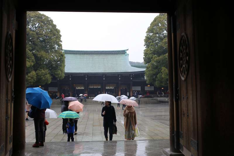 Main Hall of the Meiji Shrine
