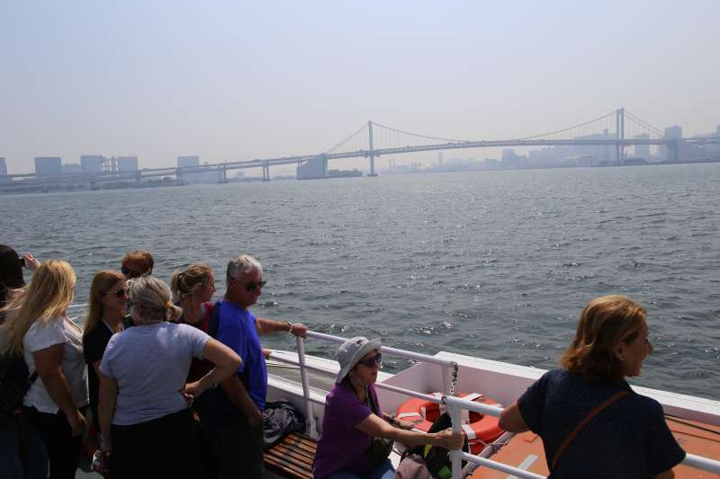 Tokyo cruise by water bus