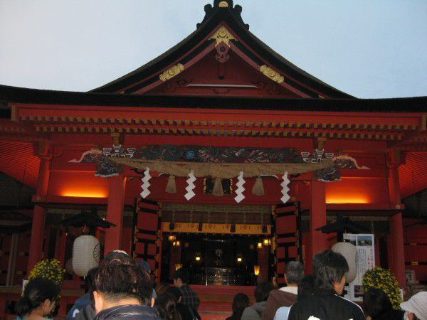 Worship Hall of the Fujinomiya Sengen Taisha Shrine