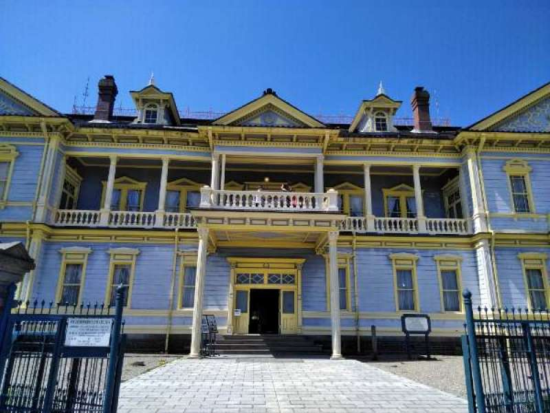 Former Hakodate City Hall.  It was used as Japanese Royal Prince's hotel.
