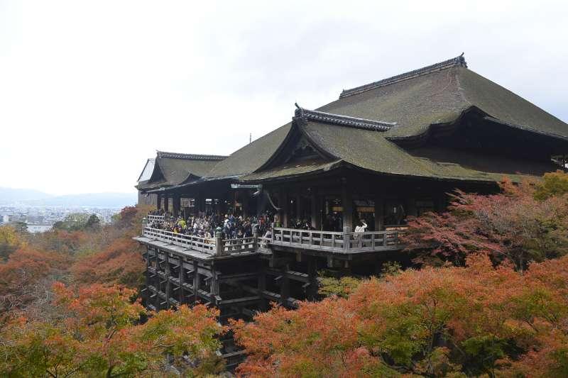Kiyomizu temple (Photo by Planetyze)