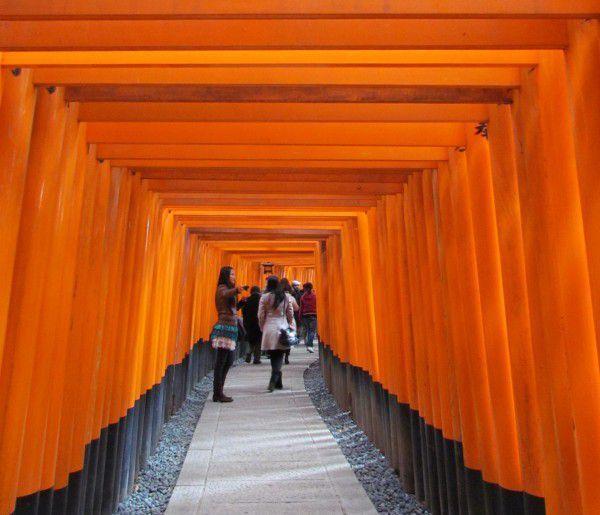 Senbon Torii at Fushimi inari Shrine