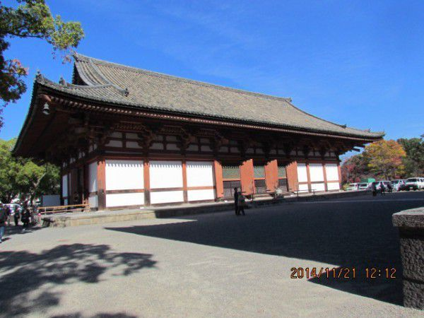 Kodo, or Lecture Hall, at Toji Temple