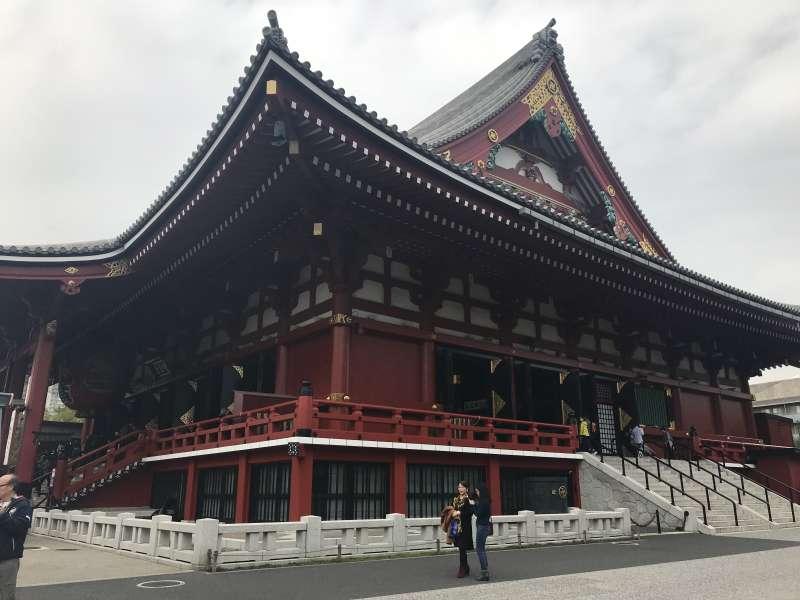 Main Hall of Sensoji Temple.