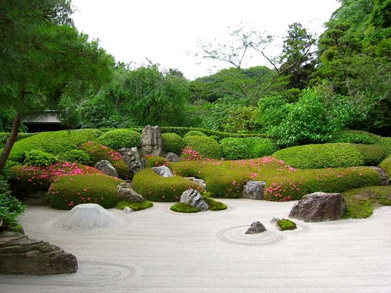 Dry landscape in Houkokuji