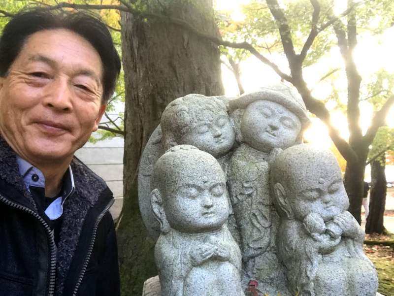 Jizo Buddha statue are cute, but they are believed to protect travelers and kids.