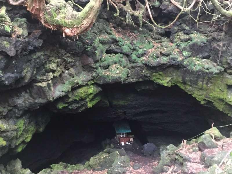 Ryugu Lava Cave