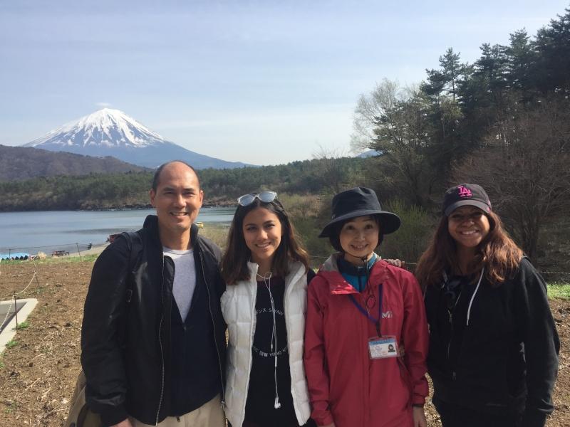 A hike in Aokigahara