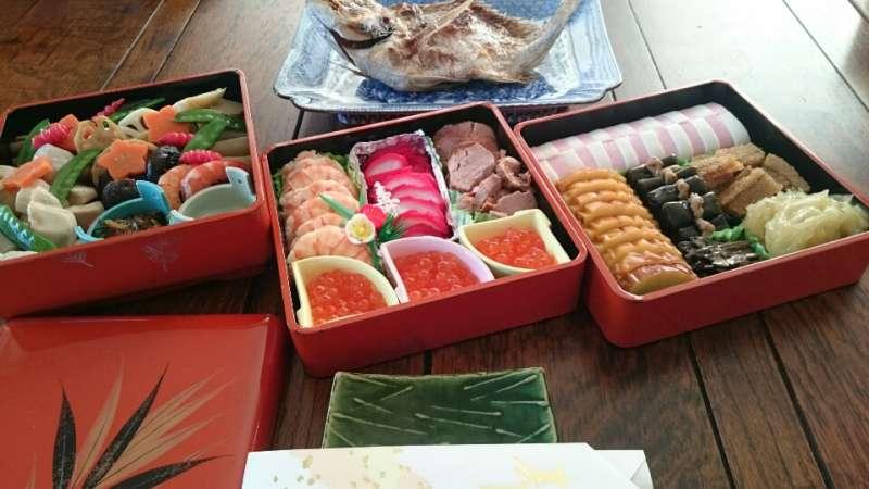 Osechi-Ryori Traditional Japanese New Year's dishes