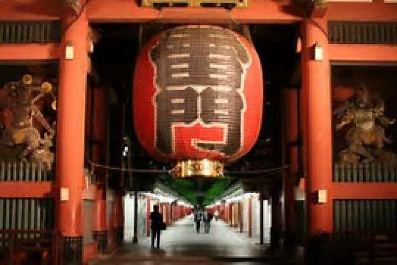 Asakusa - the thundergate and huge lantern