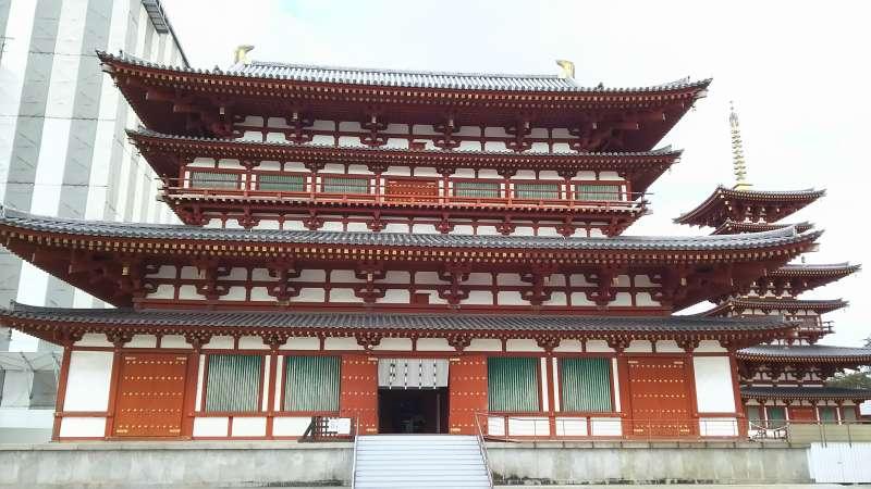 Yakushiji Temple Main Hall in Nara