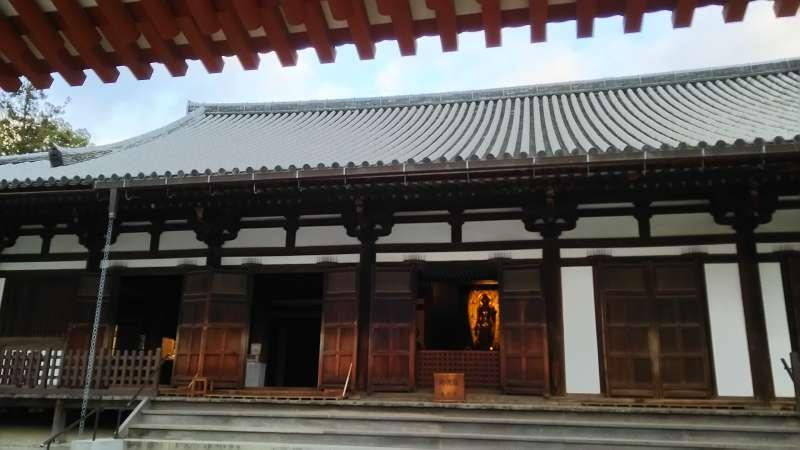 Yakushiji Temple Toin-do Hall in  Nara
