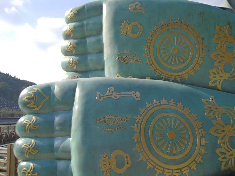 Feet of Buddha!