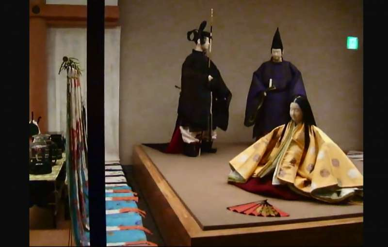 ☆The REKIHAKU:<Gallery Two> Court dress(in the middle of Heian Period,10th and 11th centuries)
